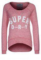 Superdry SLOUCH - Sweatshirt - rosebowl marl - Zalando.de