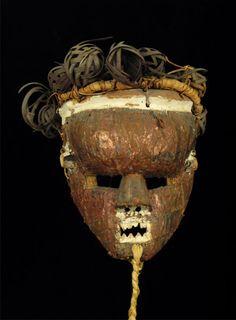 Salampasu Mask Salampasu people, D. R. Congo