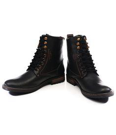 Numero Uno Black Boots