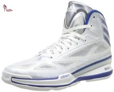 adidas Adizero Crazy Light 3, Chaussures de basketball homme, Blanc (Running White/Royal/Grey), 39 1/3 - Chaussures adidas (*Partner-Link)