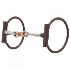 Reinsman Offset D-Ring fil torsadé Bit