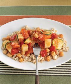 Slow-Cooker Vegetable Stew recipe #vegan