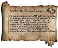 very old and mystical description of picses
