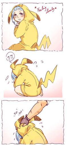 Pikachu Levy!!!!!!! >~< part 1 ||GaLe||