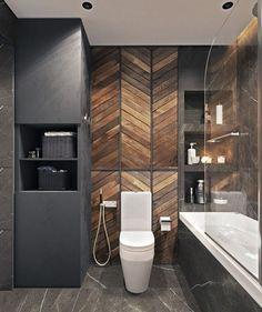 Bathroom decor, Bathroom decoration, Bathroom DIY and Crafts, Bathroom Interior design Modern Bathtub, Modern Bathroom Design, Bathroom Interior Design, Modern Design, Bathroom Designs, Bathroom Layout, Basement Bathroom, Bathroom Wall, Bathroom Ideas