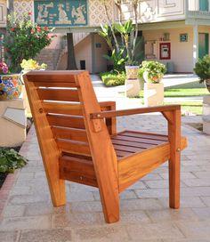 Kari's Modern Wood Chair
