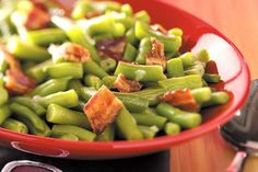 The beer and bacon in these delicious green beans makes them worthy of any main dish. —Lynn Thomas, ... - Reader's Digest