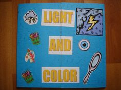 physical science 4th/5th science foldables ideas - light and color#Repin By:Pinterest++ for iPad#