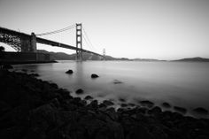 All sizes | Stillness at the bridge (red filtered black and white) | Flickr - Photo Sharing!