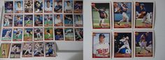 1991 Topps Minnesota Twins Team Set of 35 Baseball Cards With Traded #topps #MinnesotaTwins