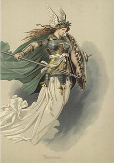 Valkyrie (Norse Mythology) - Carl Emil Doepler's Costume Designs for The Ring Cycle