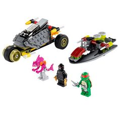 Teenage Mutant Ninja Turtles Stealth Shell in Pursuit from LEGO