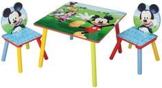 Disney Mickey Mouse Table and Chair Set