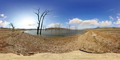 https://flic.kr/p/4DuyeL | Tuttle Creek Cove Park | A rather bleak looking Area 2 Campground at Tuttle Creek Cove Park, just outside of Manhattan, Kansas.  It should green up soon.  Best appreciated by viewing the Interactive Version  Technical info: Pentax K10D, 10-17mm Fisheye, Nodal Ninja 3.  7 shots (5 vertical pan, 1 zenith, and 1 nadir).  An 8th hand-held shot was used to patch the mounted nadir shot.  See where this picture was taken. [?]