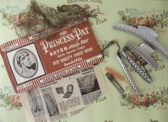 vintage beauty shop | Vintage Beauty Shop or Parlor Accessory Hair Kit (lots of pieces)