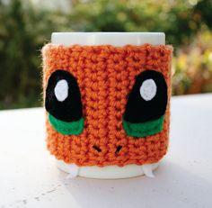 Charmander inspirado taza té taza acogedor Pokemon  por littlepopos, $18.00