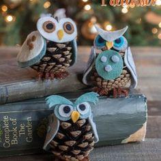 Hjemmelavede julegaver - Filt Ugle