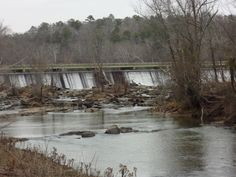 Ocmulgee River Dam .my daddy took me fishing here a lot when I was a little boy we would be there befor daylight.