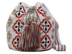 Luxy White Mochila Bag