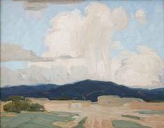 Higgins, Victor (1884-1949) - Victor Higgins (1884-1949) - Taos Thunderstorm