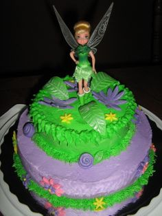 tinkerbell cake toppers Tinkerbell Cake Ideas
