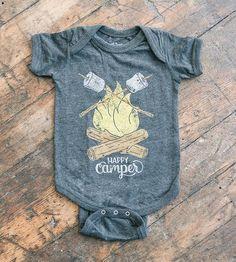 aa8c046865c0 Happy Camper Infant Bodysuit