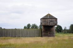 Fort Vancouver. Fur Trading period Hudson Bay Co. fort in Vancouver, WA. Volunteered as a reenactor here.