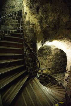 Take the stairs to my cave