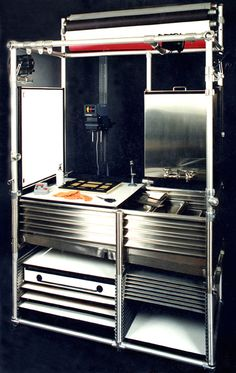 So freaking dreamy.   A Portable Darkroom/studio: Just Add Water.