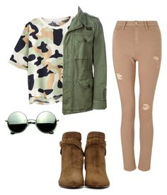 """""""hunter"""" by larafurlan ❤ liked on Polyvore featuring FAY, Revo, Yves Saint Laurent and Miss Selfridge"""