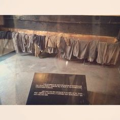 --- Photo by: @kerrymeddelton | Kerry Meddelton --- Auschwitz I. Block 11 ('The Block of Death'). The undressing room where prisoners had to strip before they were executed on the yard of Block 11 at the execution wall. Sometimes, when the group was small, Germans killed the prisoners inside the undressing room.