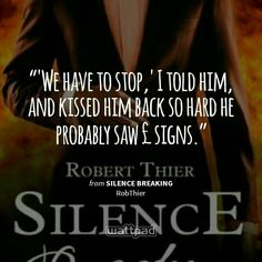 Chapter 45: Silence Broken, Words Spoken - omg lily you're hilarious as ever