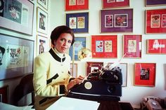Danielle Steel has been writing on a 1946 typewriter for 30 years