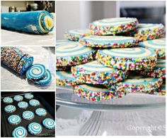 Free Swirled Sugar Cookies Recipe | UsefulDIY.com Follow us on Facebook ==> https://www.facebook.com/UsefulDiy
