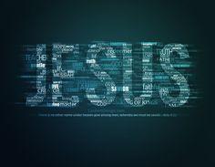 Jesus Word Art by ~kevron2001
