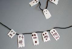 40 Halloween ghosts - 101ideer.se
