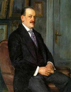 Nikolai Bogdanov-Belsky - Self-portrait, 1915