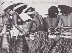 "Xhosa traditional skirts from the book, ""African Elegance"" by Alice Mertens and Joan Broster African Dance, African Dress, African Art, African Tribes, Dance Photography, Amazing Photography, Zulu Dance, History Of Dance, Africa Craft"