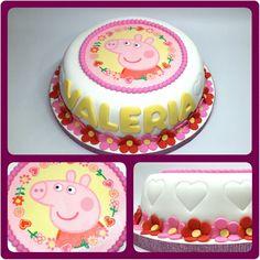 Cake Standard Peppa Pig #PrityCakes #pritycakes #cakes #torta #dulce #tarta #bolo #cakepeppapig #fondantcake #fondantart #edibleprintsoncake #peppapig #peppa #peppalacerdita #panama #pty #pty507