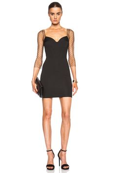 Noam Hanoch Genevieve Dress in Black