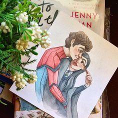 to all the boys i've loved before Lara Jean, Fanart, Jenny Han Books, Geeks, Peter K, Jean Peters, I Still Love You, Romantic Movies, Book Fandoms
