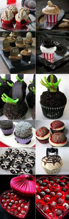 Scary Cupcakes | Cupcakes para o Halloween