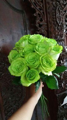 Green roses 💐