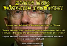 From One Domestic Terrorist to Another: An Open Letter to Harry Reid INFOWARS.COM  BECAUSE THERE'S A WAR ON FOR YOUR MIND