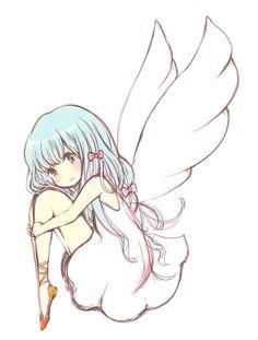 Anime Angel Girl Render by Feary-Bad-Day.deviantart.com on @deviantART