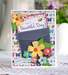 Beautiful Day - Lori Whitlock Linky Party - Brigits Scraps