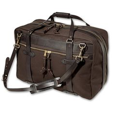 www.Filson.com   Pullman: Our Pullman is handsome, easy to handle and stands up to abuse. #Filson #travel #luggage