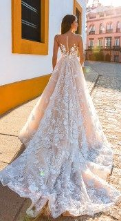 Beautiful lace wedding dresses ideas 123