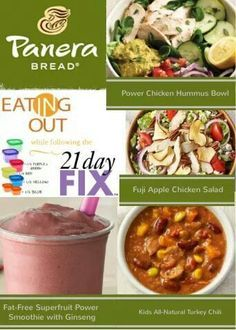 21 Day Fix - Eating Out