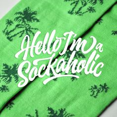 Hello I'm a Sockaholic :D